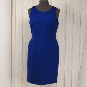 J. Crew Royal Blue Sleeveless Dress 12